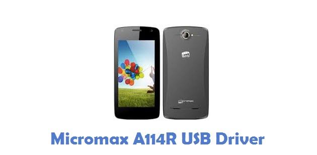 Micromax A114R USB Driver