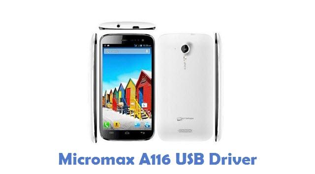 Micromax A116 USB Driver