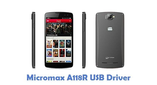 Micromax A118R USB Driver