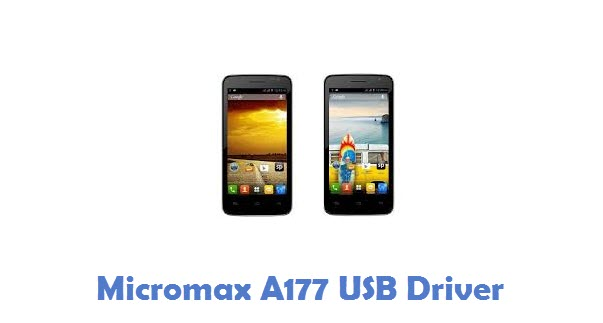 Micromax A177 USB Driver