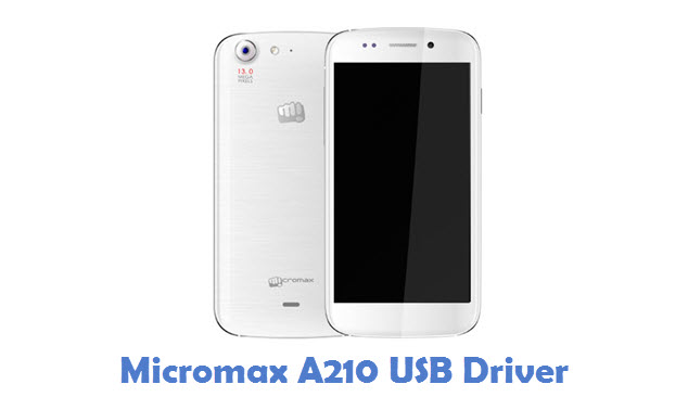Micromax A210 USB Driver