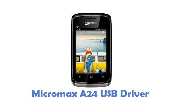 Micromax A24 USB Driver