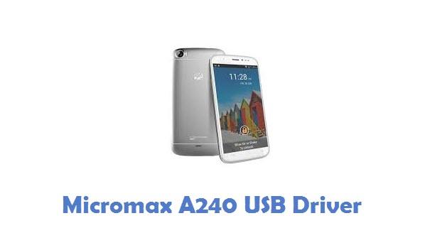 Micromax A240 USB Driver