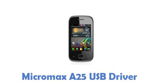 Micromax A25 USB Driver