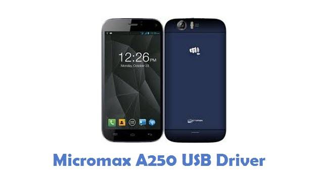 Micromax A250 USB Driver