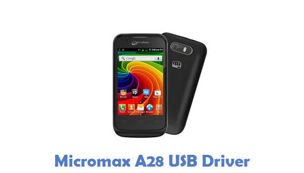 Micromax A28 USB Driver
