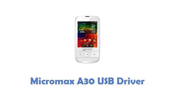 Micromax A30 USB Driver