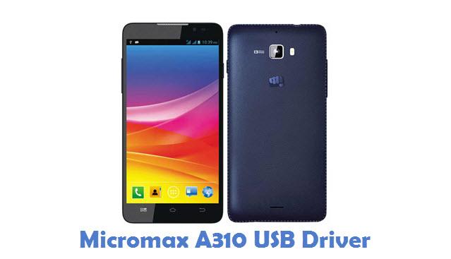 Micromax A310 USB Driver