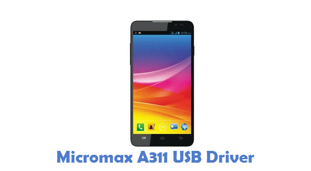 Micromax A311 USB Driver