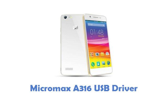Micromax A316 USB Driver
