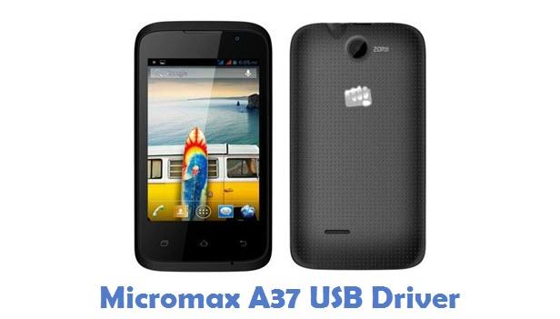 Micromax A37 USB Driver