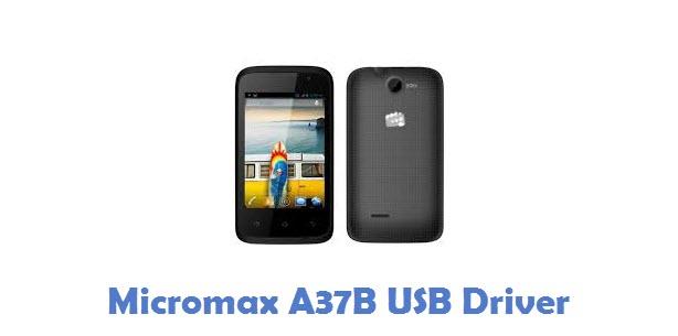Micromax A37B USB Driver