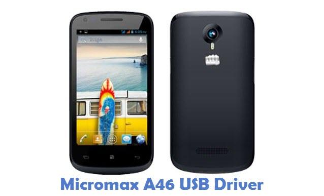 Micromax A46 USB Driver