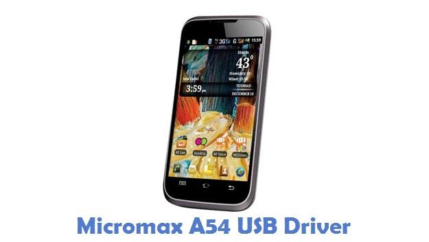 Micromax A54 USB Driver
