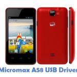 Micromax A58 USB Driver