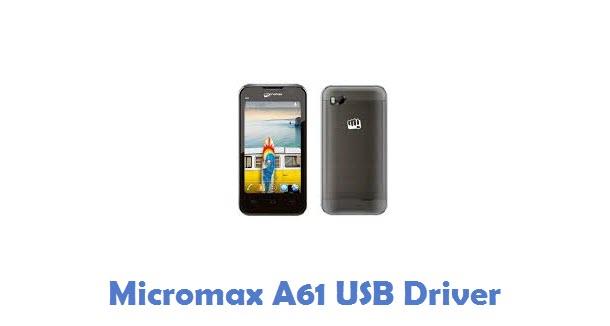 Micromax A61 USB Driver