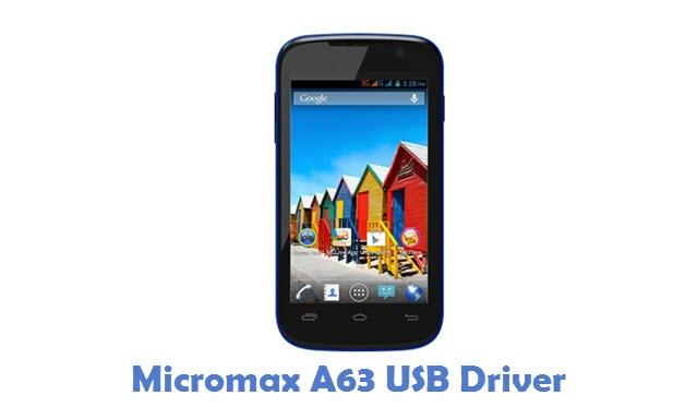 Micromax A63 USB Driver