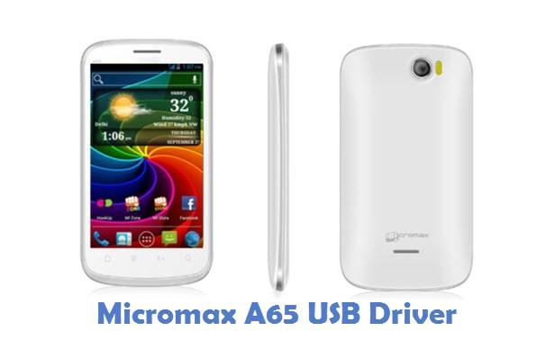 Micromax A65 USB Driver