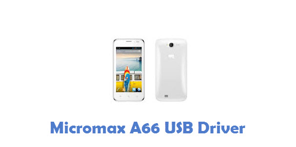 Micromax A66 USB Driver