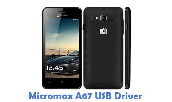Micromax A67 USB Driver