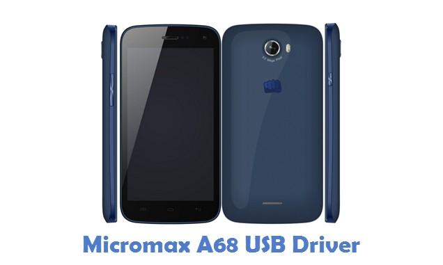 Micromax A68 USB Driver