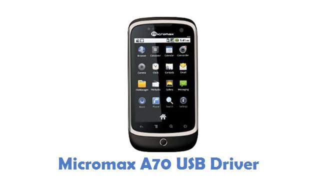 Micromax A70 USB Driver