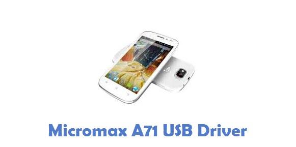 Micromax A71 USB Driver