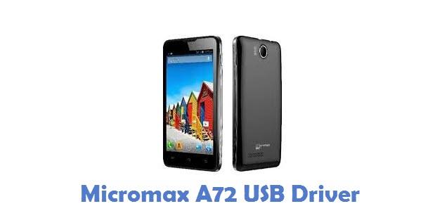 Micromax A72 USB Driver