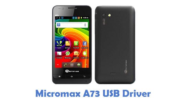 Micromax A73 USB Driver