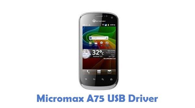 Micromax A75 USB Driver