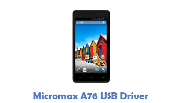 Micromax A76 USB Driver