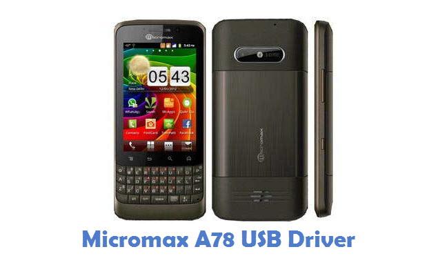 Micromax A78 USB Driver