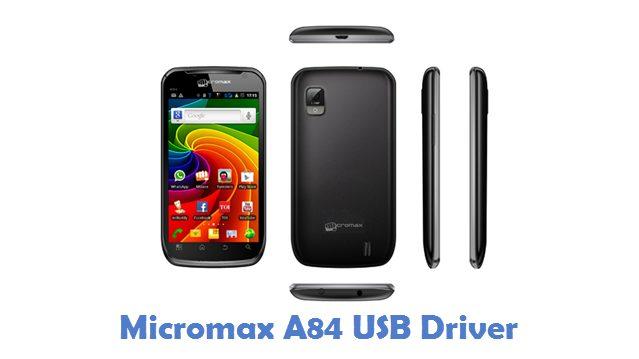 Micromax A84 USB Driver