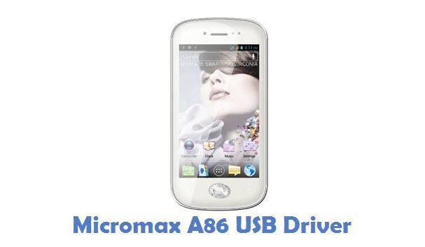Micromax A86 USB Driver