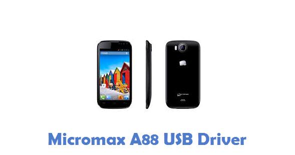 Micromax A88 USB Driver