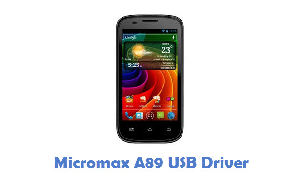 Micromax A89 USB Driver
