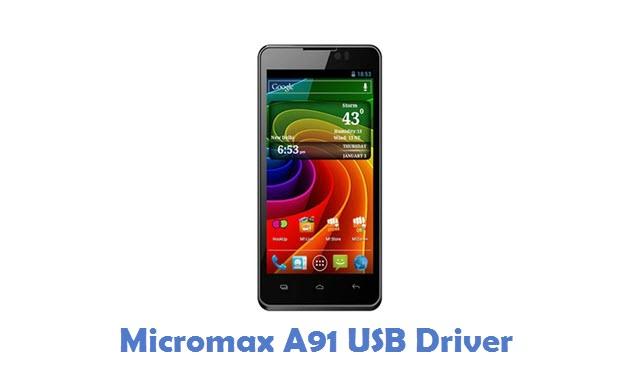 Micromax A91 USB Driver