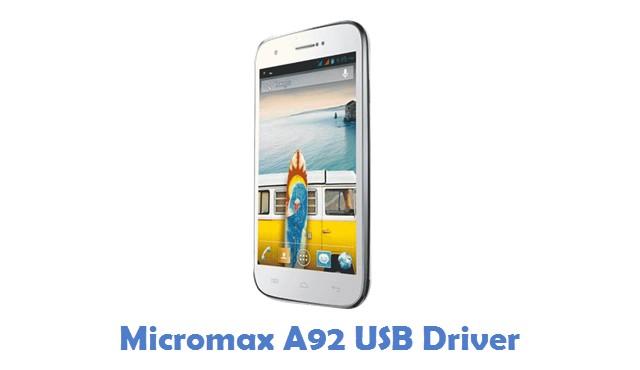 Micromax A92 USB Driver