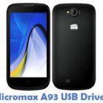Micromax A93 USB Driver
