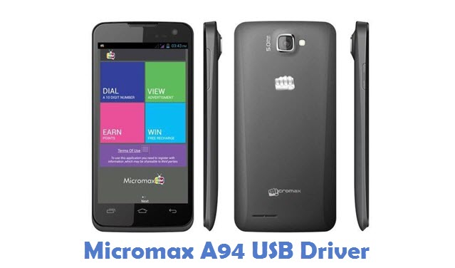 Micromax A94 USB Driver