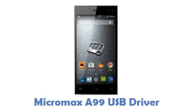 Micromax A99 USB Driver