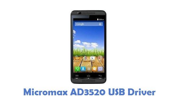 Micromax AD3520 USB Driver