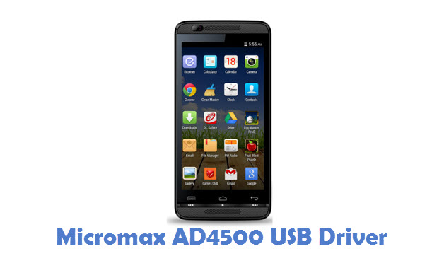 Micromax AD4500 USB Driver
