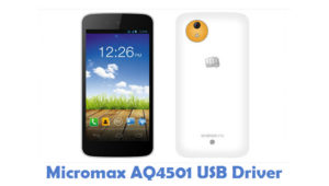 Download Micromax AQ4501 USB Driver | All USB Drivers