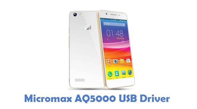 Micromax AQ5000 USB Driver