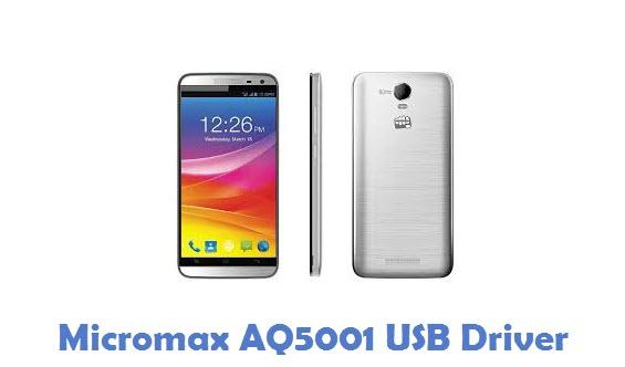 Micromax AQ5001 USB Driver