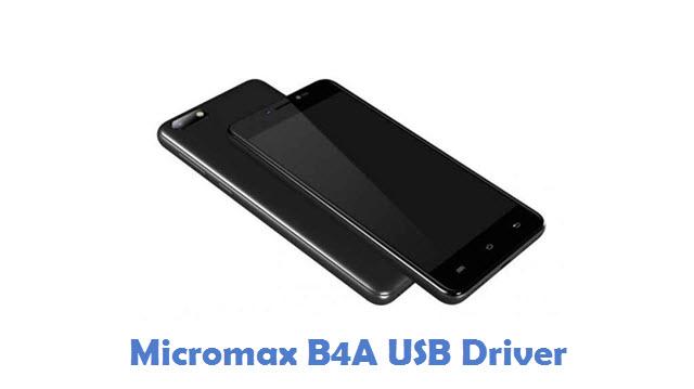 Micromax B4A USB Driver