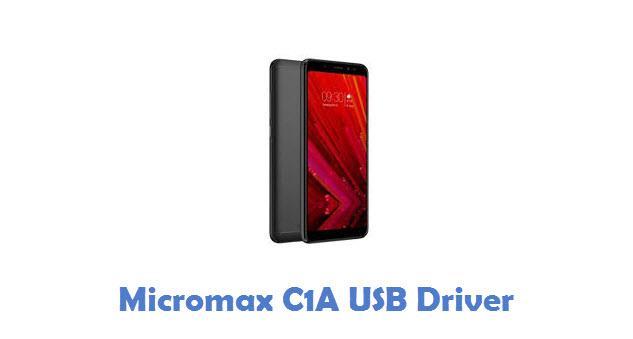 Micromax C1A USB Driver