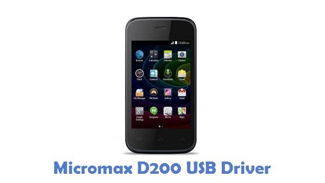 Micromax D200 USB Driver