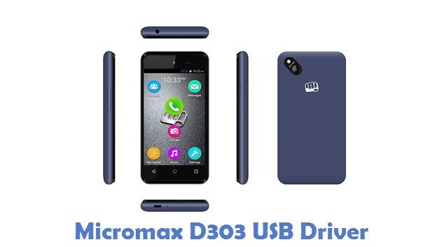 Micromax D303 USB Driver